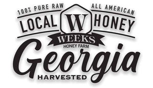Weeks Honey Farm; Gallberry Honey Bear; 2 Ounce