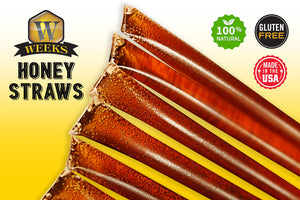 Weeks Honey Farm; Orange Blossom Honey Straws; 150 Count - Weeks Honey Farm, Inc.