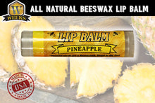 Load image into Gallery viewer, Weeks Honey Farm Pineapple All Natural Beeswax Lip Balm - Weeks Honey Farm, Inc.