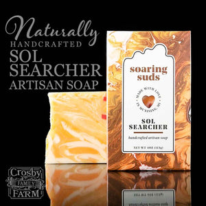 Sol Searcher Artisan Soap presented by Crosby Family Farm; 4 Ounces