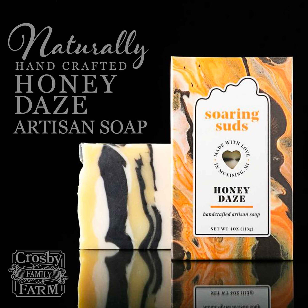 Honey Daze Artisan Soap presented by Crosby Family Farm; 4 Ounces