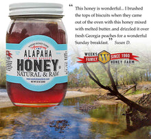 Load image into Gallery viewer, Weeks Honey Farm; American Alapaha Honey - Glass Jar; 22 Ounce - Weeks Honey Farm, Inc.