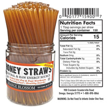 Load image into Gallery viewer, Weeks Honey Farm; Orange Blossom Honey Straws; 150 Count