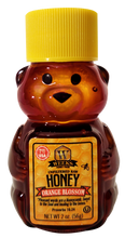 Load image into Gallery viewer, 4 Pack Sample of Weeks Honey Farm; 2 Ounce Each Clover, Gallberry, Orange Blossom, and Wildflower Raw Honeys - Weeks Honey Farm, Inc.