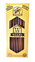 Load image into Gallery viewer, Weeks Honey Farm; Honey Straws; 12 Count - Weeks Honey Farm, Inc.
