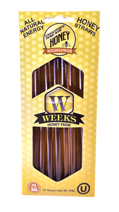 Weeks Honey Farm; Honey Straws; 12 Count - Weeks Honey Farm, Inc.