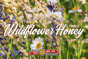 Weeks Honey Farm Wildflower Honey; 8 Ounce