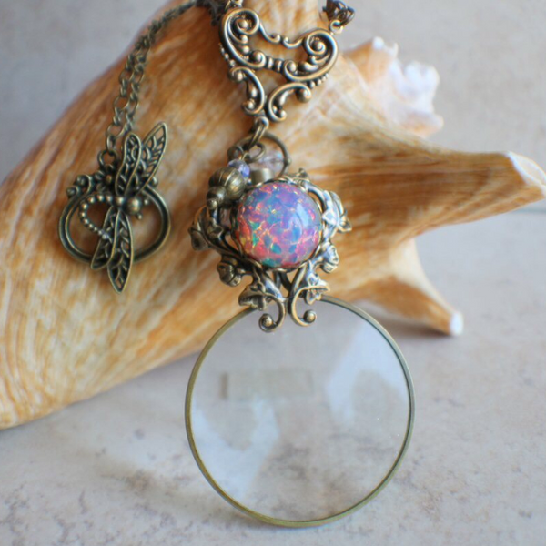 Magnifying Glass Pendants