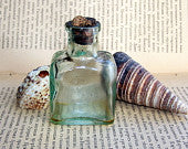 Old Glass Bottle for Medicine Laboratory use. Home Photo Decor. b5