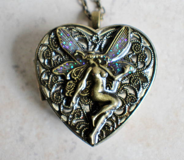 Bronze Fairy Music Box Locket - Char's Favorite Things - 3