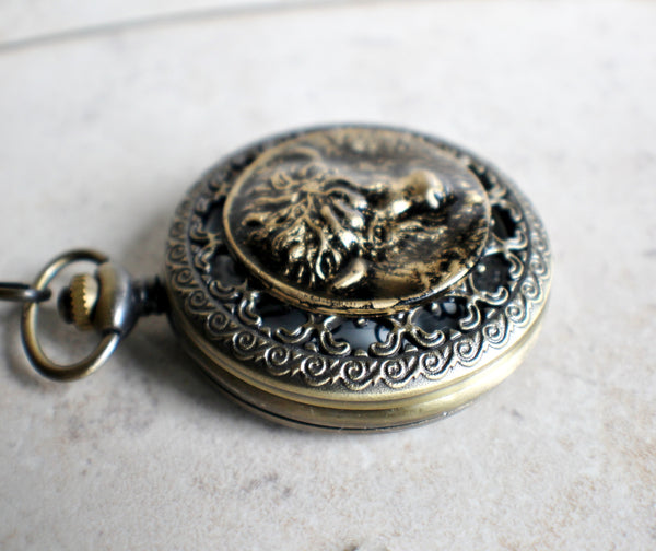 Buffalo Pocket Watch - Char's Favorite Things - 4