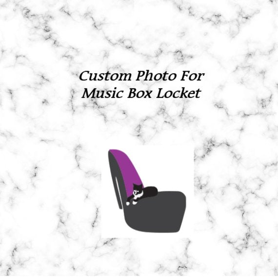 Personalized Photo for Music Box Locket