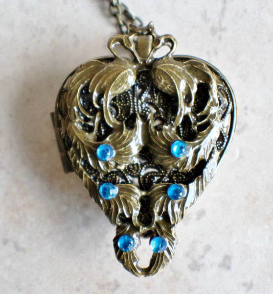 Peacock Music Box Locket - Char's Favorite Things - 3