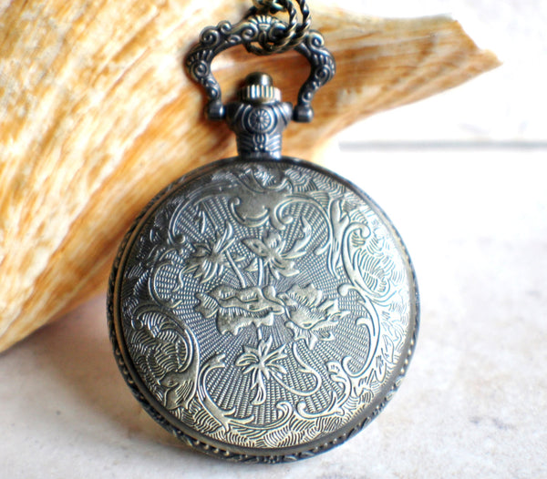 Mermaid Pocket Watch Case Locket - Char's Favorite Things - 4