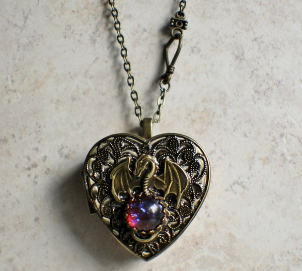 Dragon's Breath Music Box Locket