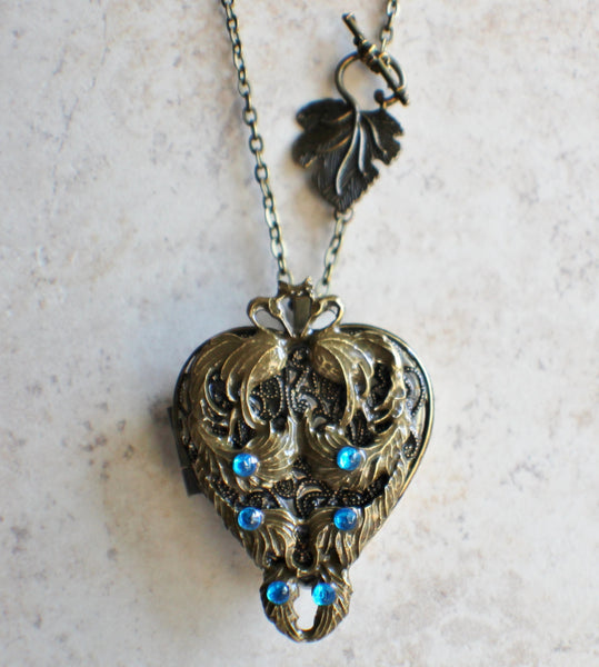 Peacock Music Box Locket - Char's Favorite Things - 4