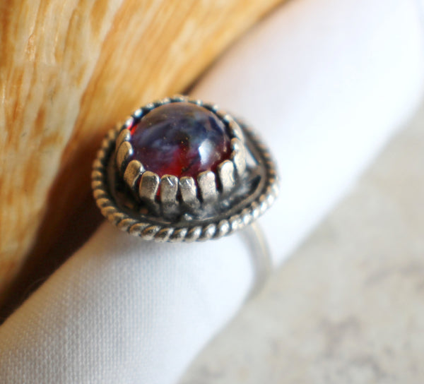 Round Dragons Breath Ring
