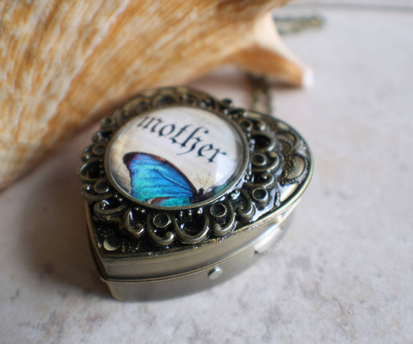 Music box locket for Mother