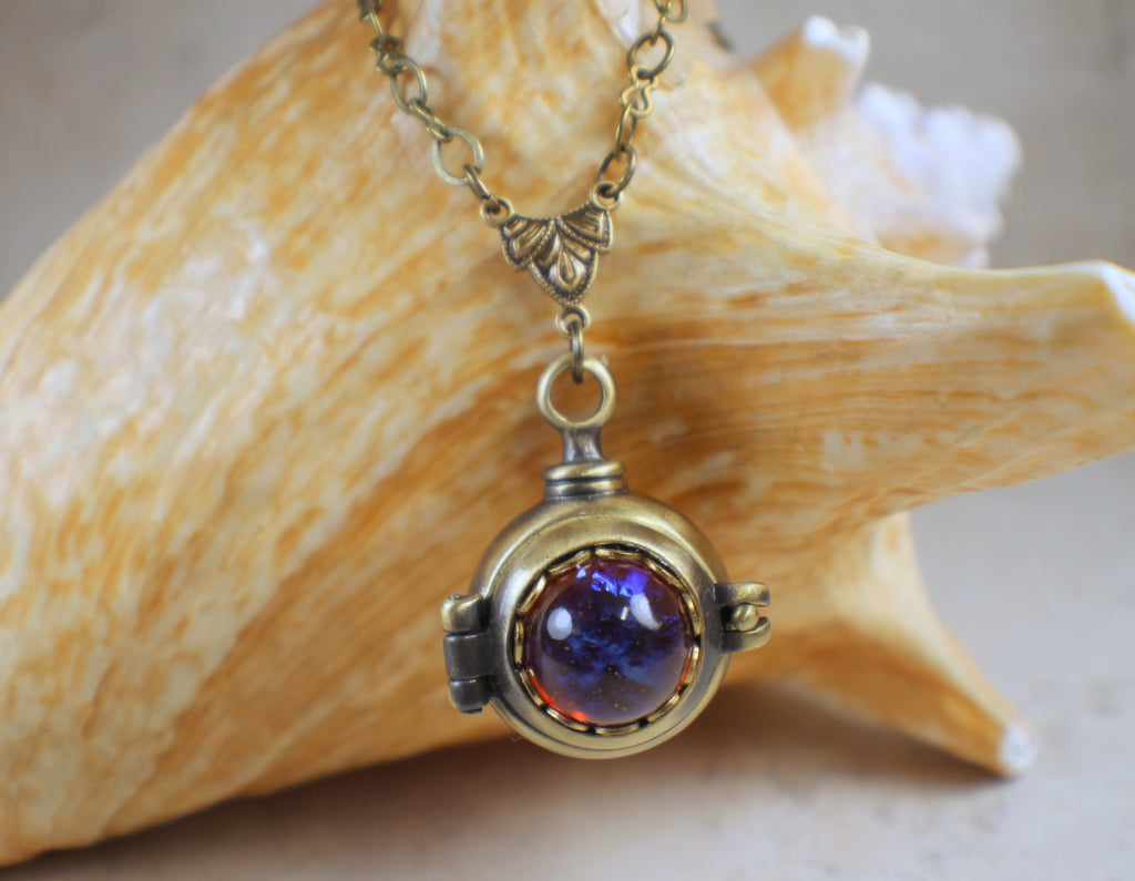 Dragons Breath Hidden Compartment Locket