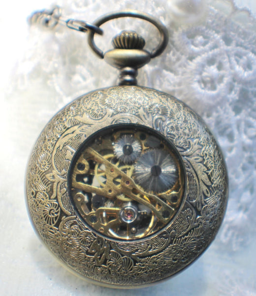 Dragon Mechanical Pocket Watch - Char's Favorite Things - 5