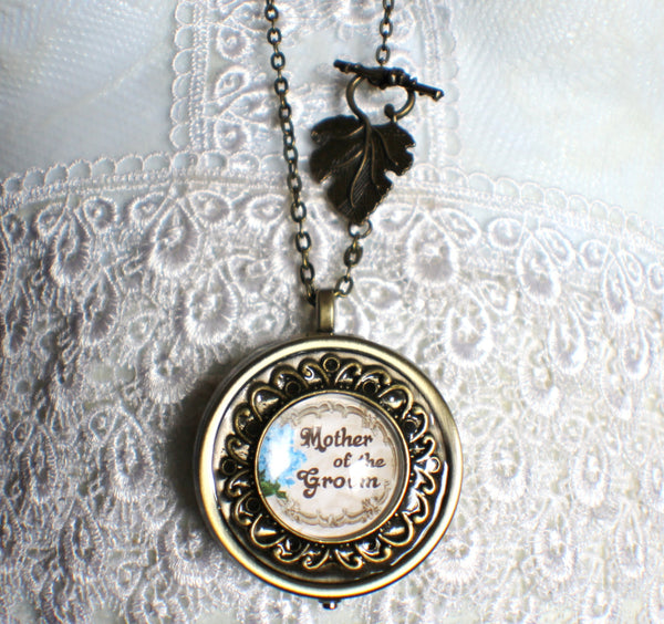 Music Box Locket for Mother of the Groom. - Char's Favorite Things - 4