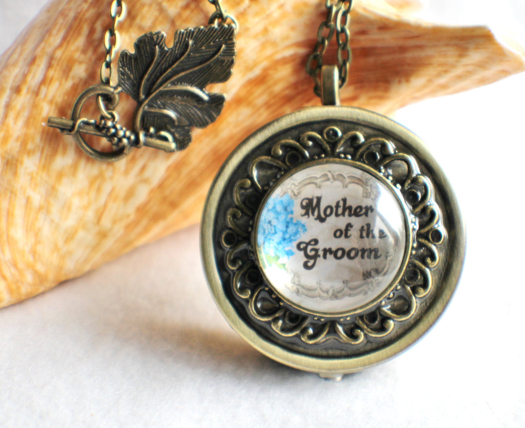 Music Box Locket for Mother of the Groom. - Char's Favorite Things - 1