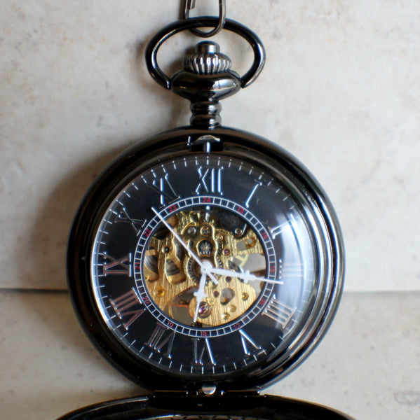 Black Dragon Pocket Watch - Char's Favorite Things - 4