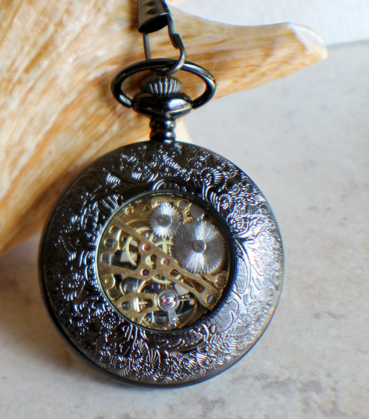 Black Dragon Pocket Watch - Char's Favorite Things - 5