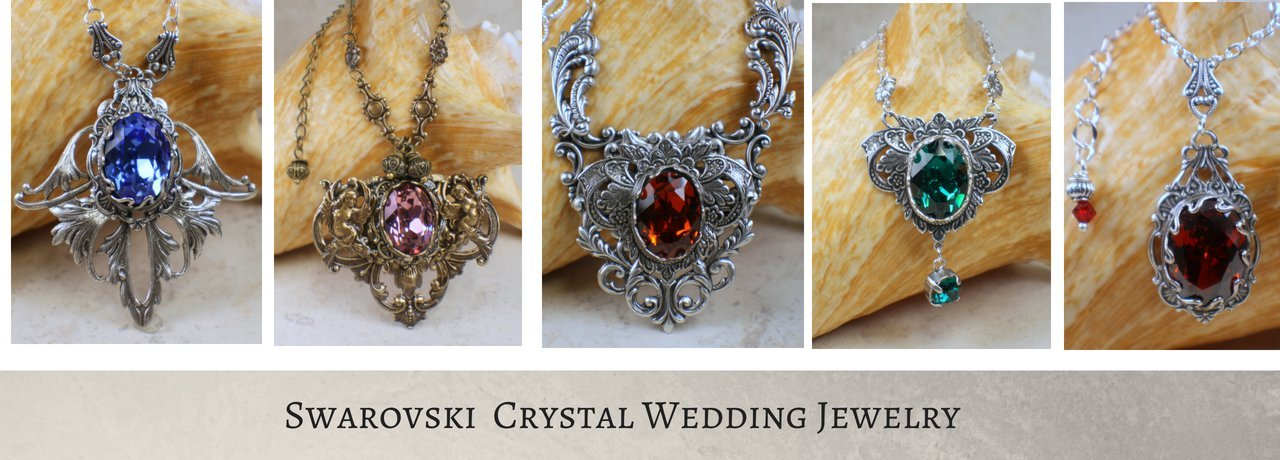 Swarovski Crystal Wedding Jewelry