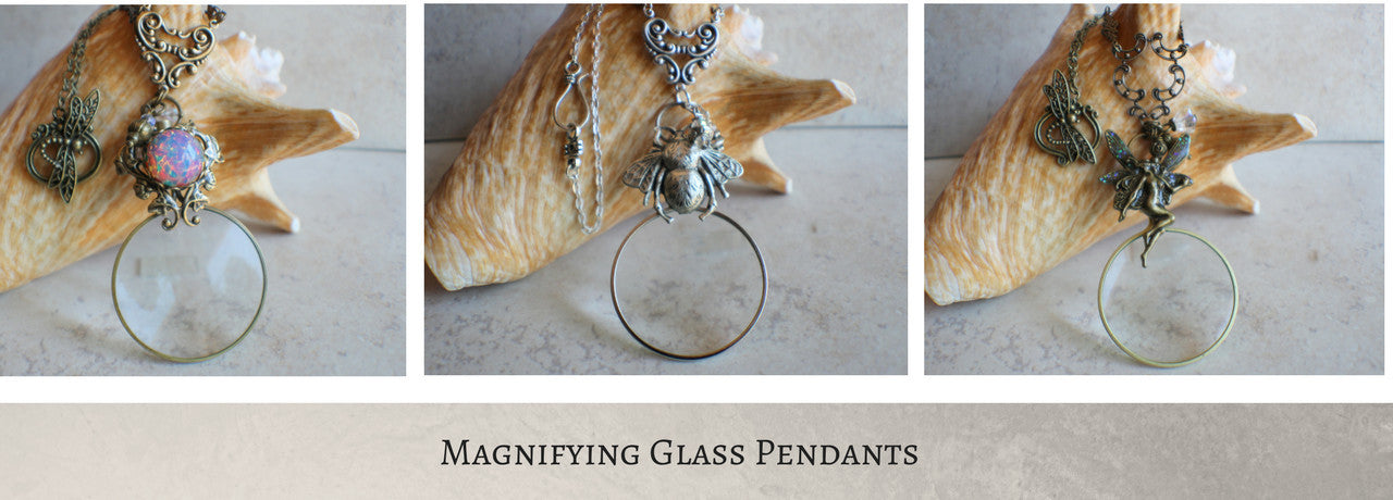 Magnifying Glass Jewelry