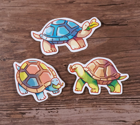 Turtle Snacks - Sticker set