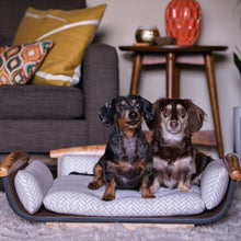 Load image into Gallery viewer, Three-Headed Monster Dog Bed