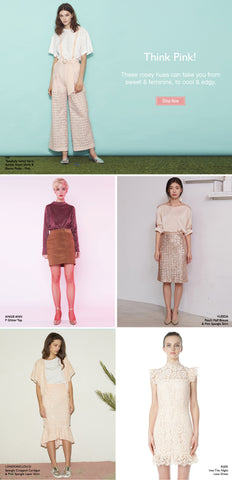 Style Picks - Think Pink!