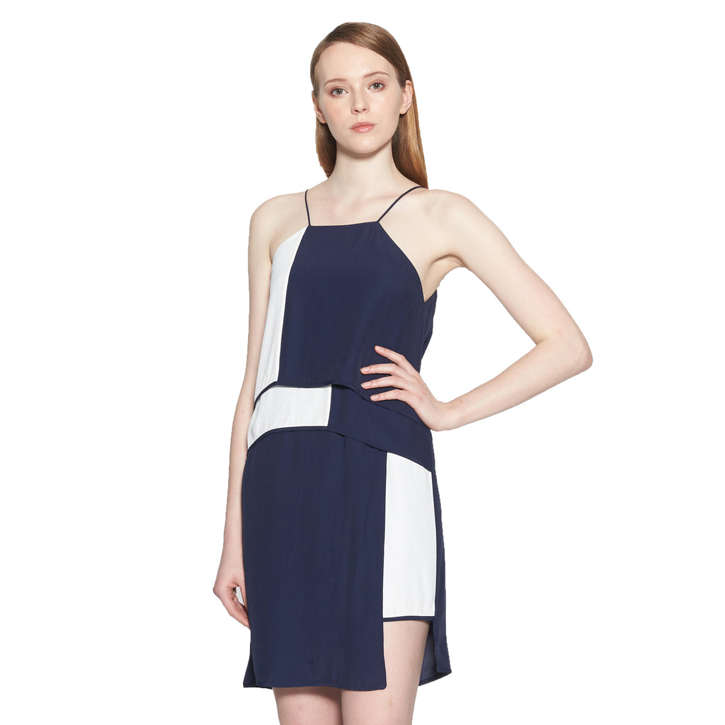 Marjorie Colorblock Shift Dress