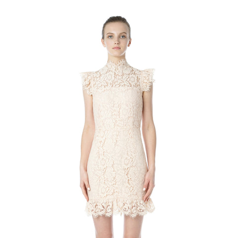 Into The Night Lace Dress