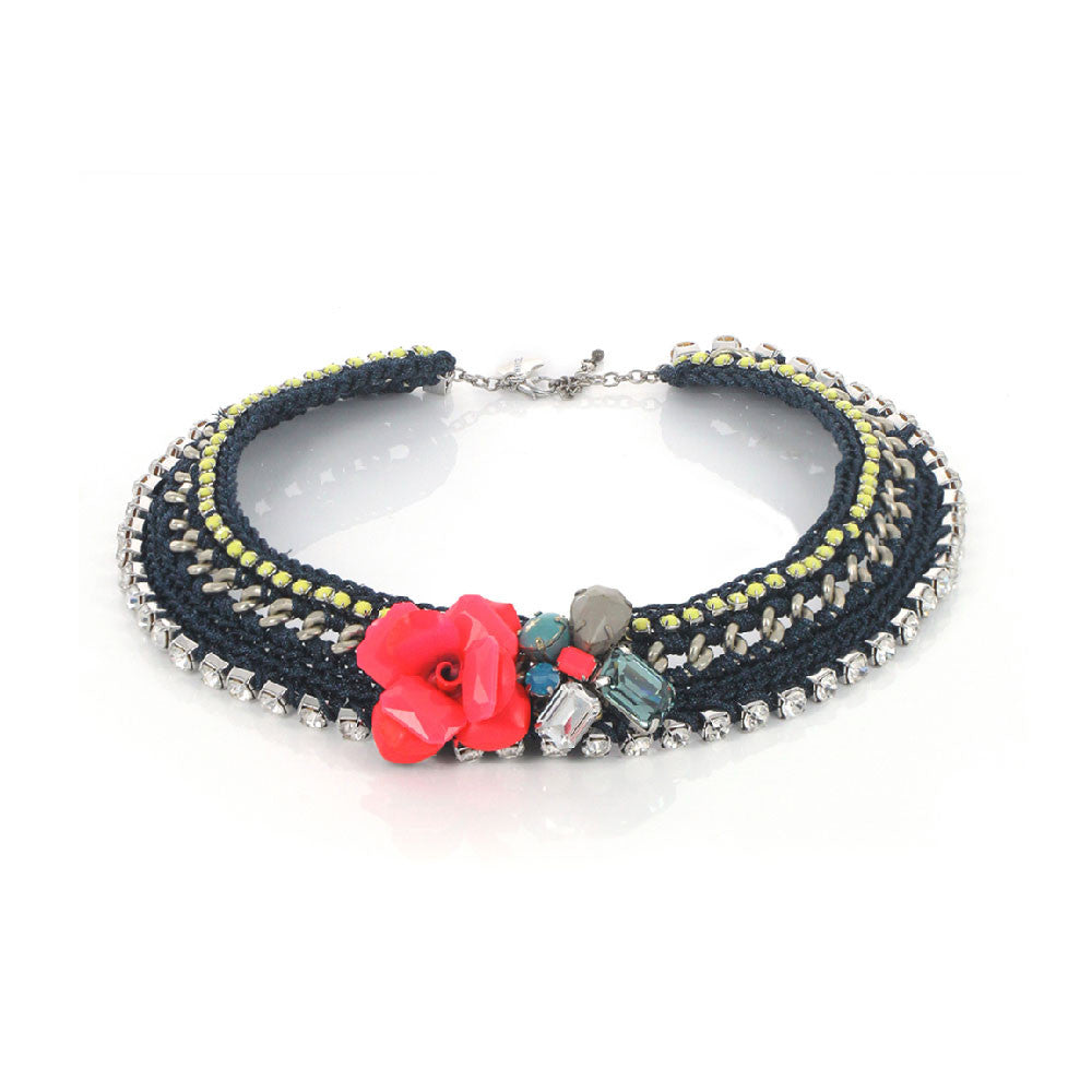 Apache Necklace - Navy
