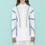 Kaena Oversized Button-Down Shirt