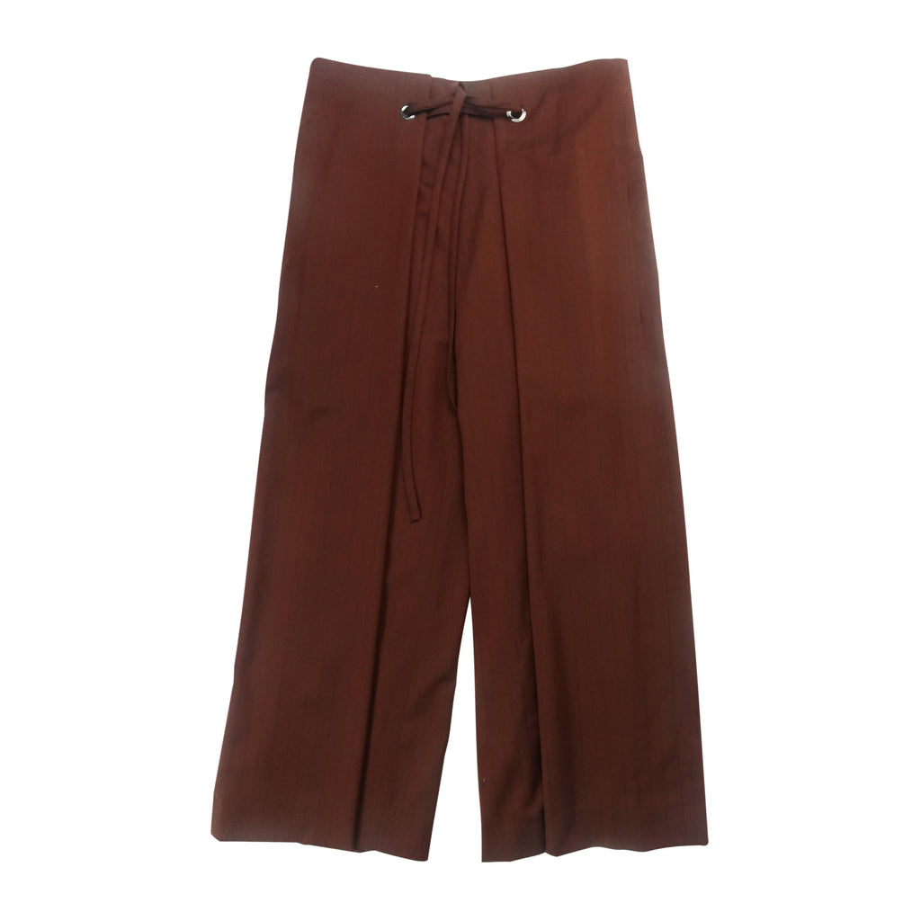 B String Wide Trouser