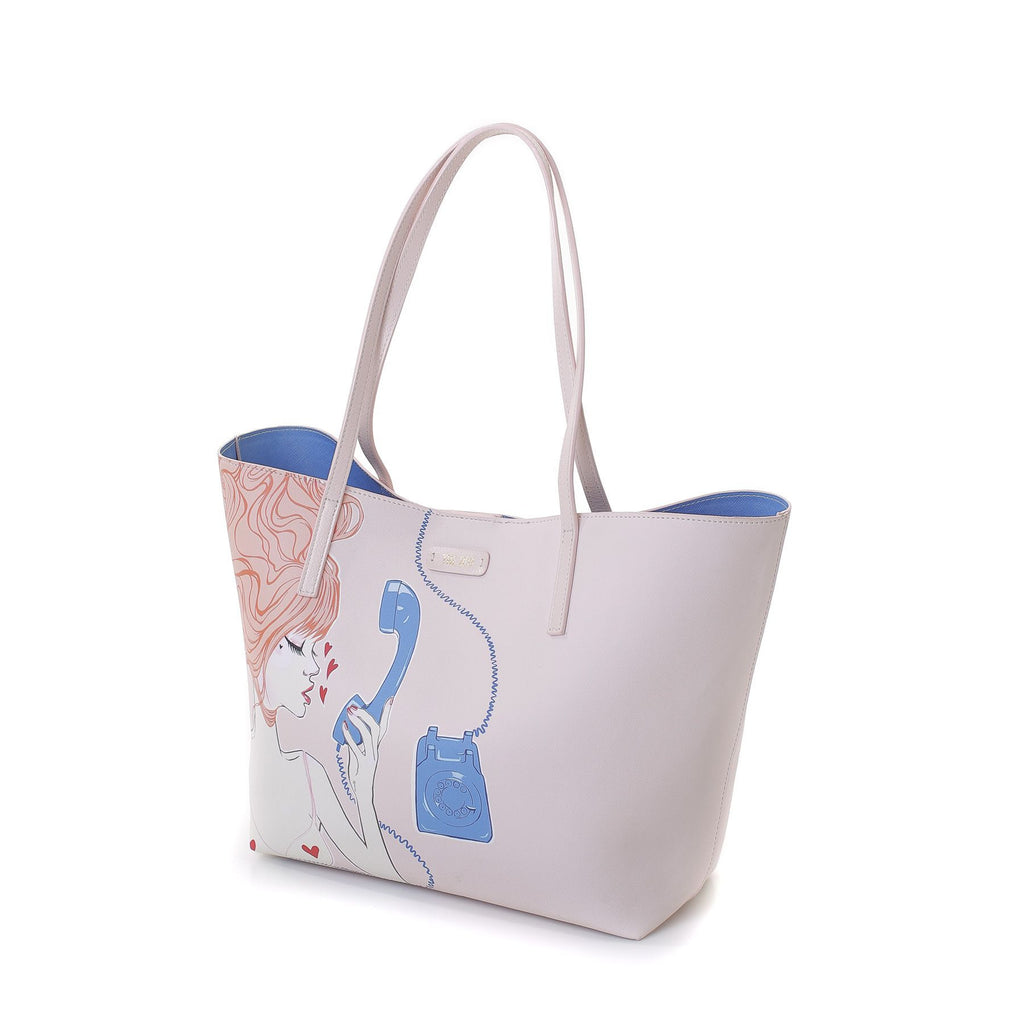 Call Me Baby Tote Bag with Mini Clutch