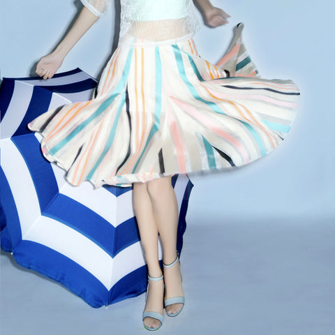 Carousel Color Gordet Skirt