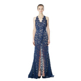 Star Crossed Scallop Maxi Dress