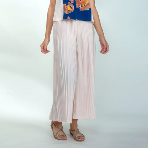 Ice Queen Pleated Pants