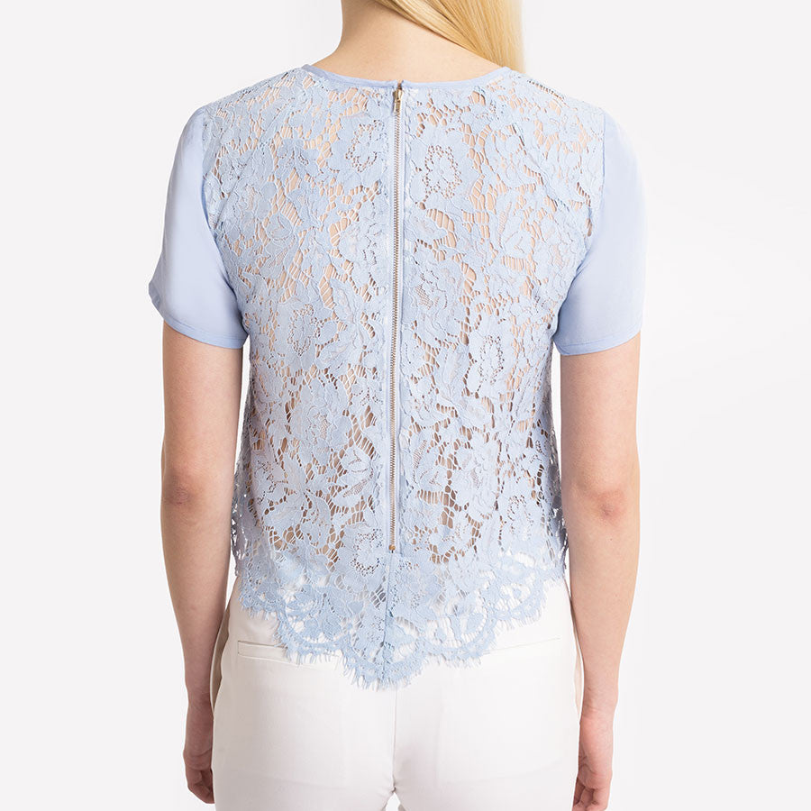 Drifter Short Sleeve Lace Top