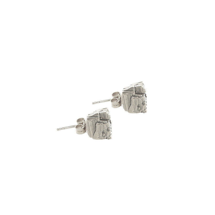 Asura Earrings - Silver