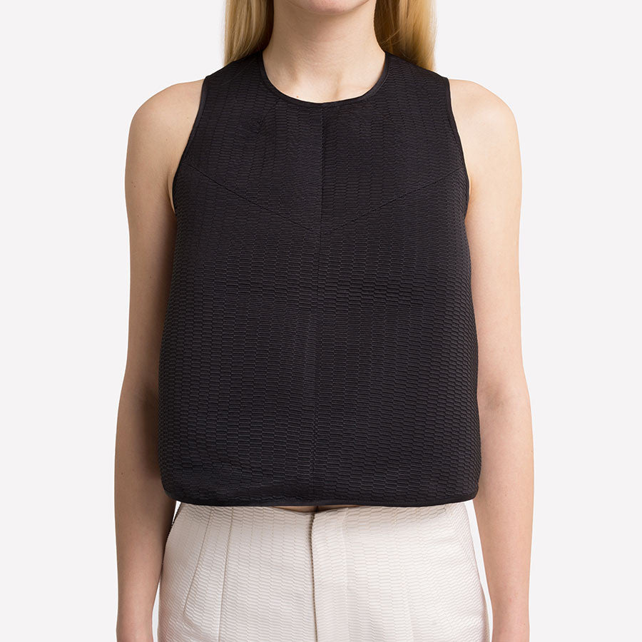 Fate Jacquard Cropped Tank