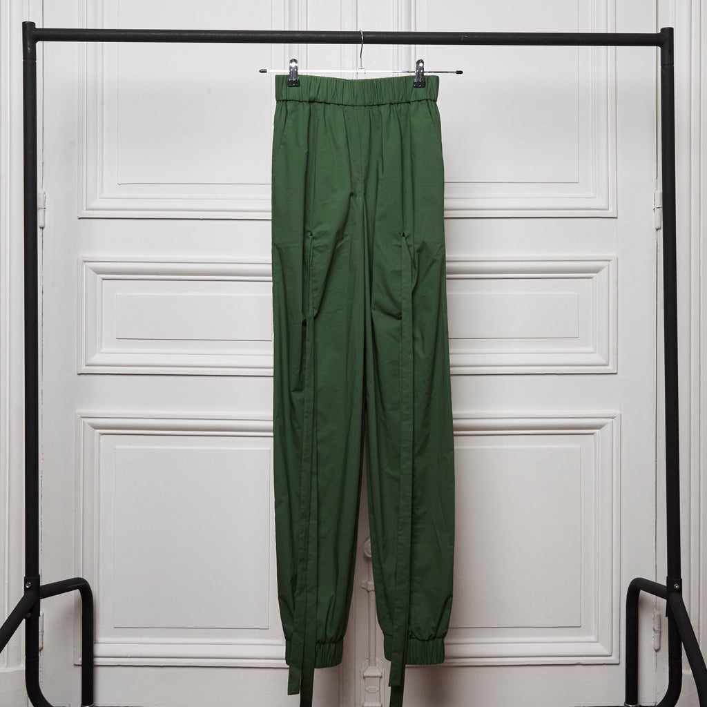Ripple Trousers - Green