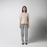 Suede T-shirt - Grey