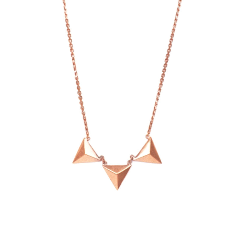 Blair Necklace - Rose Gold
