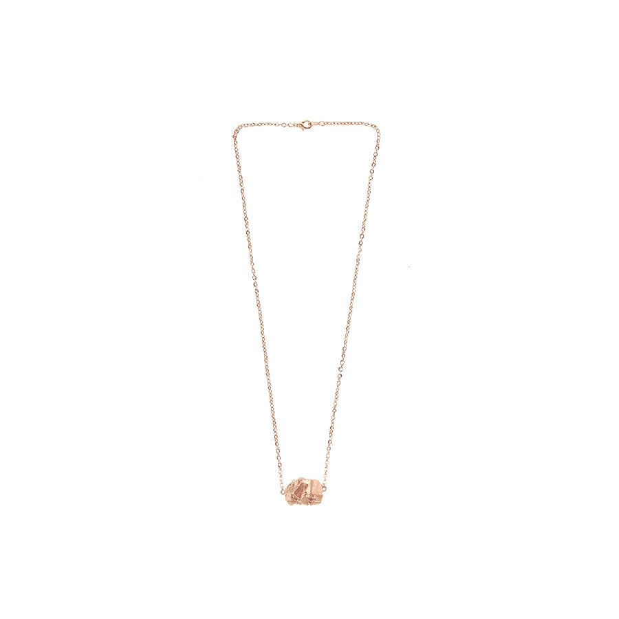 Jhana Necklace - Rose Gold