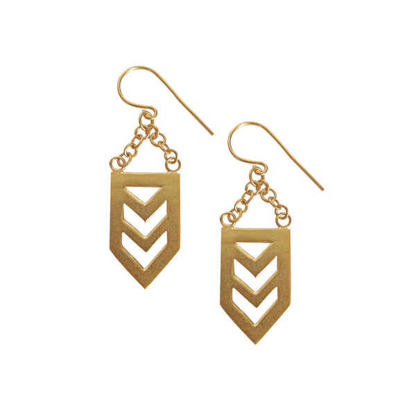 Nishi Gold Earrings